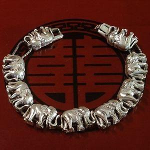 ~Estate Find~Vintage Elephant Bracelet
